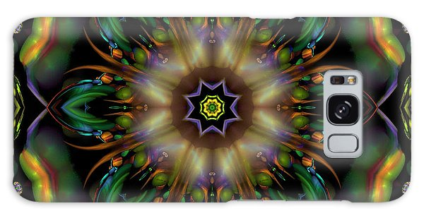 Garden Of Destinasia Galaxy Case by Rhonda Strickland