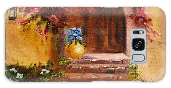 Garden Of Serenity Galaxy Case by Jenny Lee