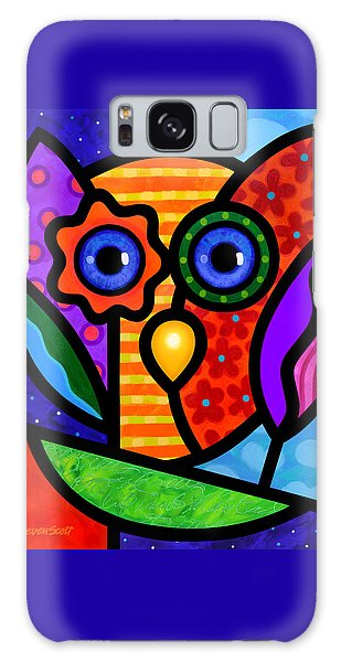 Garden Owl Galaxy Case