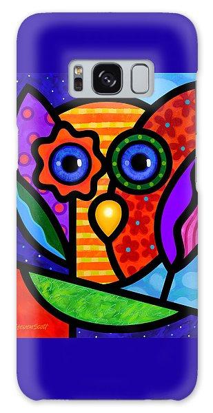 Garden Owl Galaxy Case