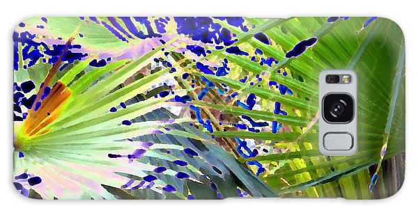 Garden Palms Galaxy Case