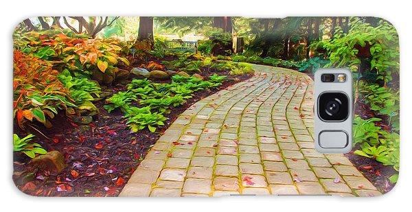 Garden Path Galaxy Case by Michelle Joseph-Long
