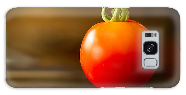 Garden Ripe Tomato Galaxy Case by Randy Wood