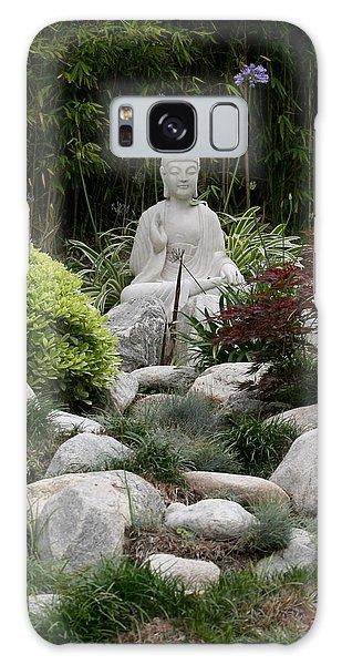Garden Statue Galaxy Case
