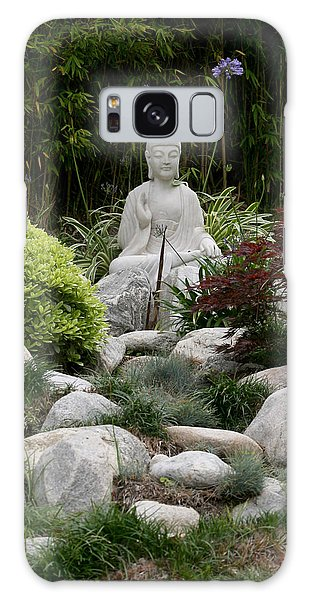 Garden Statue Galaxy Case by Art Block Collections