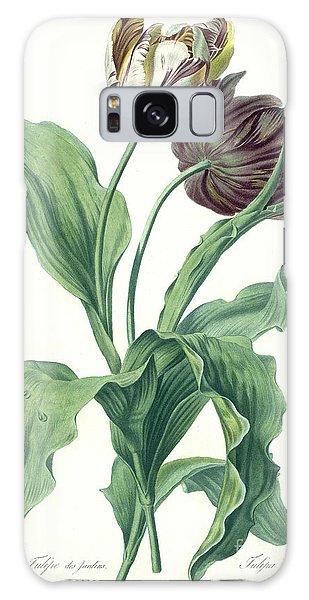 Floral Garden Galaxy Case - Garden Tulip by Gerard van Spaendonck