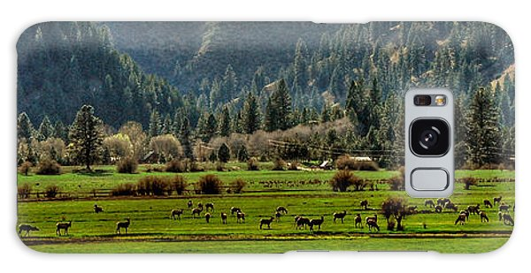 Garden Valley Elk Herd Galaxy Case