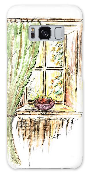 Garden View Galaxy Case by Teresa White