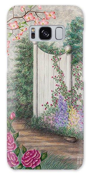 Garden Walkway Galaxy Case