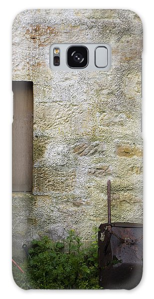 Garden Wall Dornoch Scotland Galaxy Case