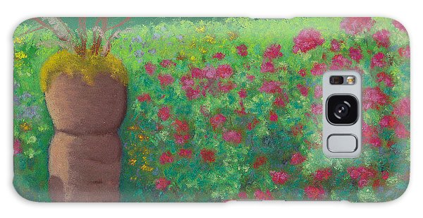 Garden Welcoming Galaxy Case