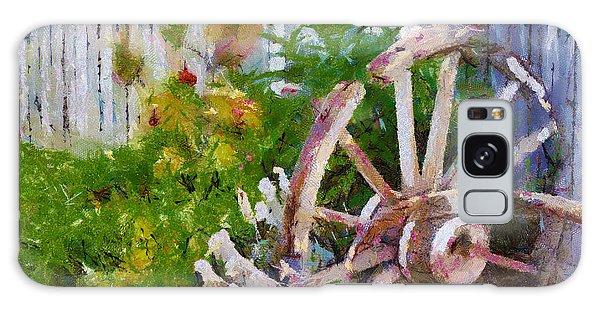 Garden Whhel Galaxy Case