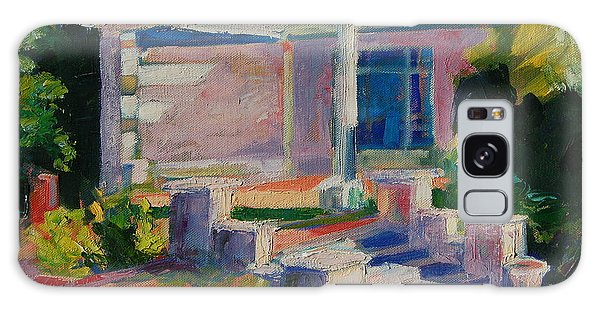 Garden With Steps Afternoon Light Galaxy Case by Thomas Bertram POOLE