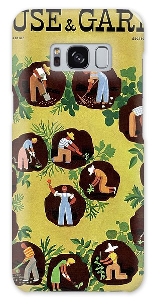 Gardeners And Farmers Galaxy Case