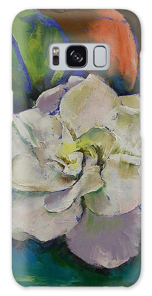 Gardenia Galaxy Case - Gardenia by Michael Creese