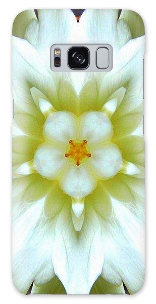 Gardenia Kaleidoscope 1 Galaxy Case