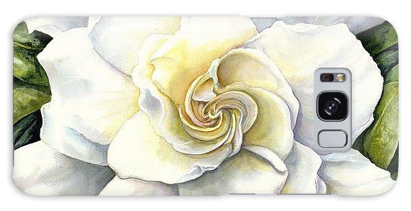 Gardenia Galaxy Case - Gardenia by Karen Wright