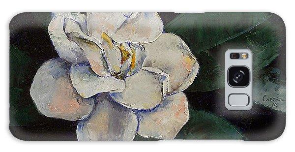 Gardenia Galaxy Case - Gardenia Oil Painting by Michael Creese