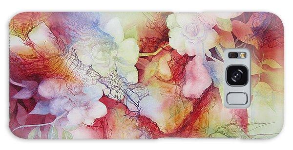 Gardenia Galaxy Case - Gardenias by Deborah Ronglien