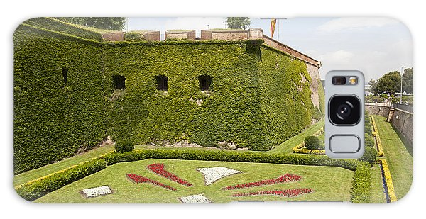gardens around Montjuic Castle in Barcelona Galaxy Case