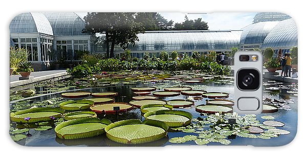 Pond Of Lilies Galaxy Case by Marguerita Tan
