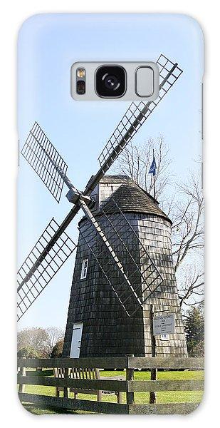 Gardiner Windmill East Hampton New York Galaxy Case by Bob Savage