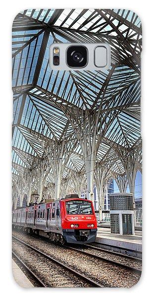 Gare Do Oriente Lisbon Galaxy Case by Carol Japp