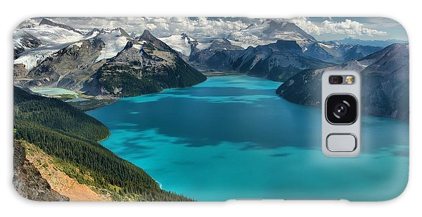 Garibaldi Lake Blues Greens And Mountains Galaxy Case