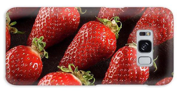 Gariguette Strawberries Galaxy Case