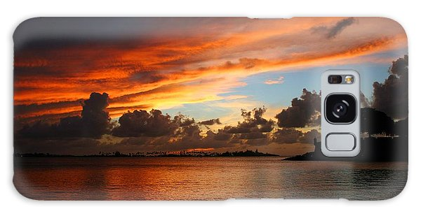 Galaxy Case featuring the photograph Garita En Atardecer by Francisco Pulido