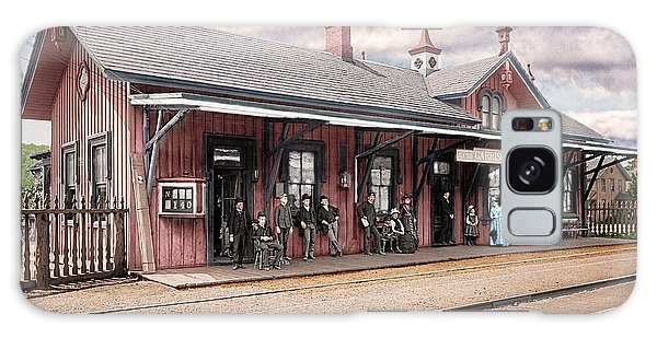 Garrison Train Station Colorized Galaxy Case