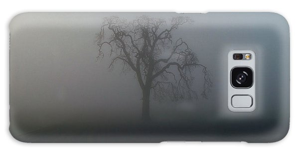 Garry Oak In Fog Galaxy Case