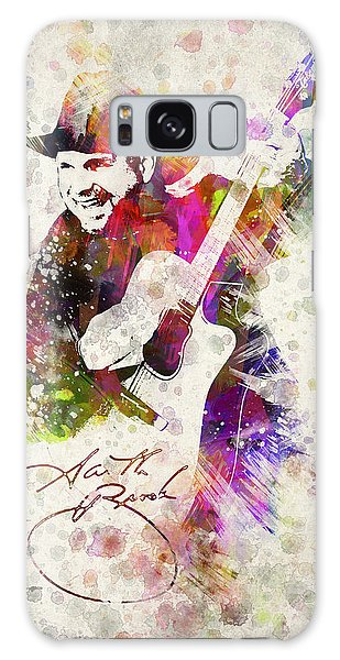 Saxophone Galaxy S8 Case - Garth Brooks by Aged Pixel