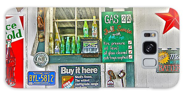 Galaxy Case - Gas 22 Cents by Frank Savarese