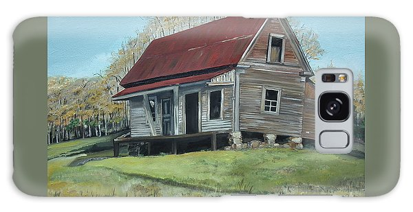 Gates Chapel - Ellijay Ga - Old Homestead Galaxy Case by Jan Dappen