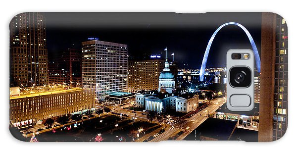 Gateway Arch St Louis Night Galaxy Case