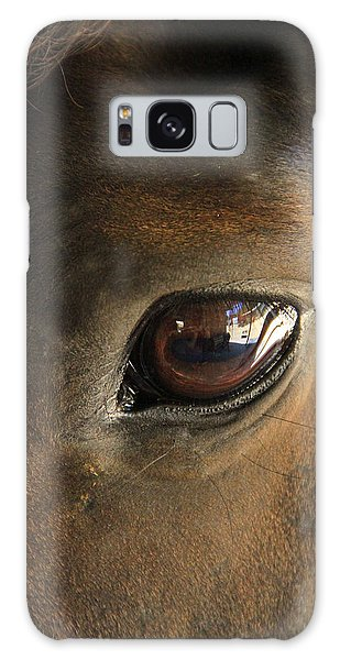 Gateway To A Horses Soul Galaxy Case by Shoal Hollingsworth
