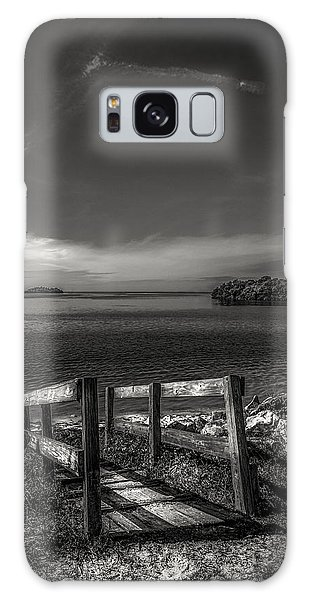 Handrail Galaxy Case - Gateway To The Gulf by Marvin Spates