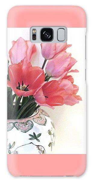 Gathered Tulips Galaxy Case
