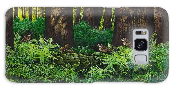Gathering Among The Ferns Galaxy Case