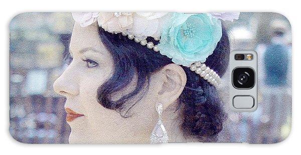 Gatsby Girl  Galaxy Case by Lilliana Mendez