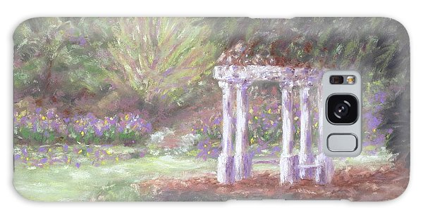 Gazebo At Hopelands In Spring Galaxy Case