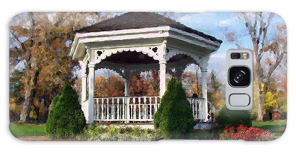 Gazebo At Olmsted Falls - 1 Galaxy Case
