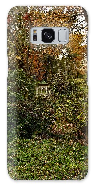 Gazebo In The Woods Galaxy Case