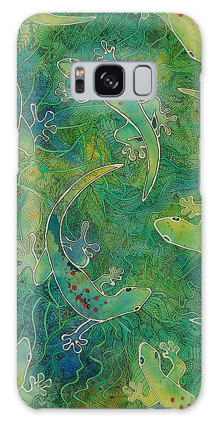 Gecko Magic Galaxy Case by Terry Holliday