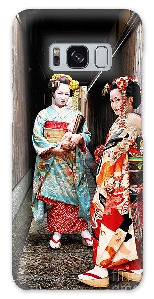 Geisha Alley Galaxy Case by John Swartz