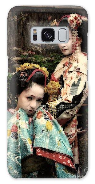 Geisha Garden Galaxy Case by John Swartz