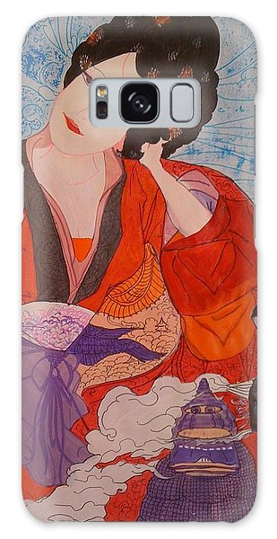 Geisha Girl Galaxy Case by Judi Goodwin