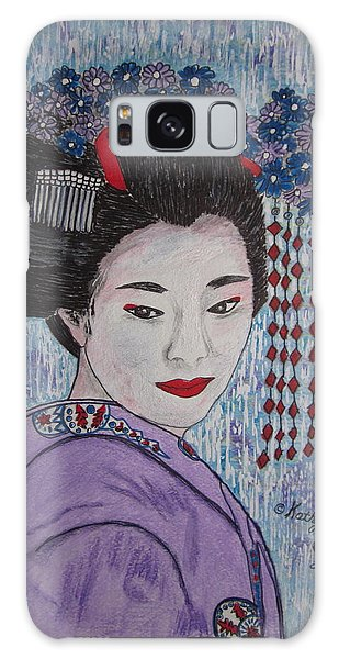 Geisha Girl Galaxy Case