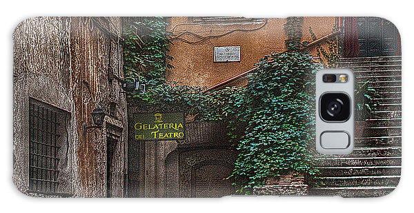 Gelateria Del Teatro Galaxy Case by Hanny Heim
